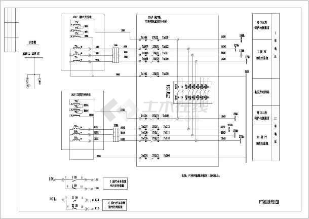 kyn28-12高压中置柜二次原理图
