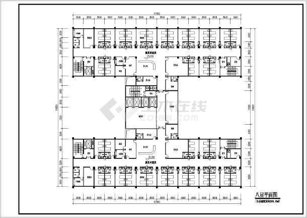 某市中心平面建筑设计总方案v平面医院图风带带气压示意图绘制图片