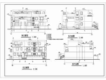 农村二层别墅房屋设计图