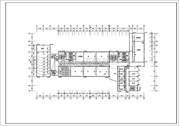 本图为十二班中学教学楼方案设计图含:设计说明,图纸目录,各层平面图图片