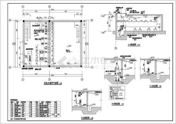 某办公楼室外地下消防泵图纸筑结构图_cad图的怎么香港v图纸房建看图片