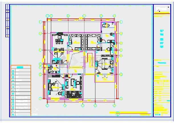 【苏州】中式装修风格庭院别墅设计图纸图片
