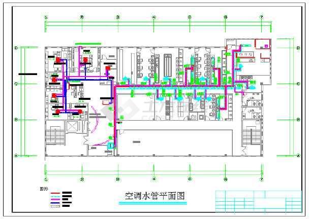 【南京】某医药实验室空调设计图纸图片