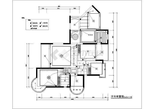 套房三房两厅设计图纸展示
