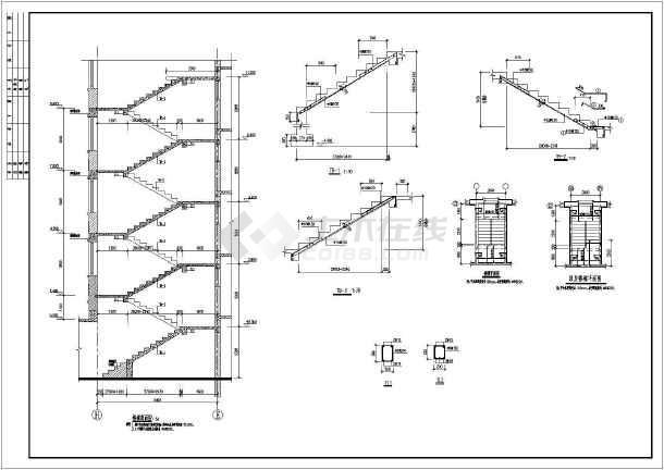 某地六层砖混结构住宅楼结构施工图(带地下室)