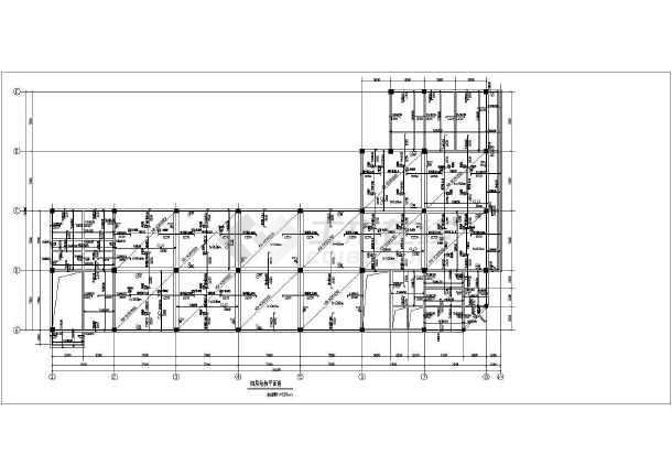 河北某商场现浇空心楼盖结构设计图纸图片2