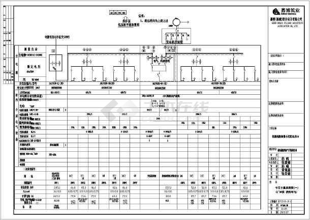 某小区10kv配电室电气设计施工图
