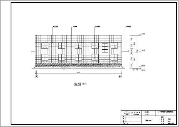 山东某汽车研究所实验室建筑设计方案图图片