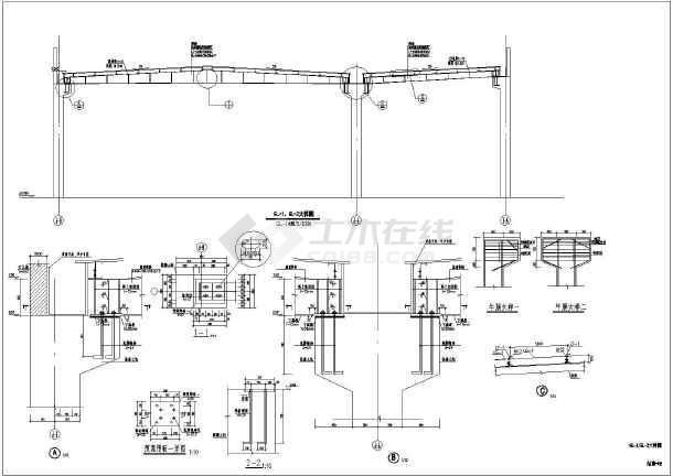 某地单层轻型钢结构厂房结构施工图