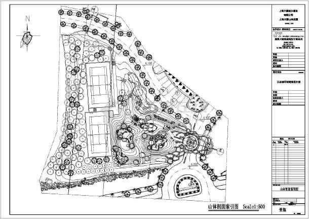 大豪图纸图纸入口景观山林工程施工v图纸别墅加热炉山体图片