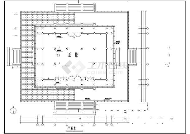 某地传统图纸仿古建筑施工图(含梦想牌楼园林谢英凯门楼v传统家殿阁图片