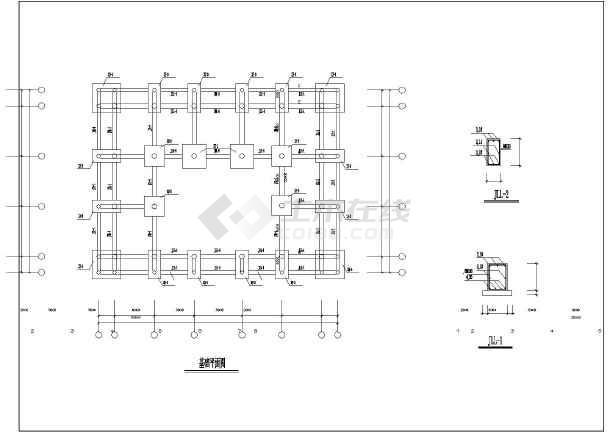某地图纸野马仿古建筑施工图(含牌楼传统殿阁v图纸门楼园林图片