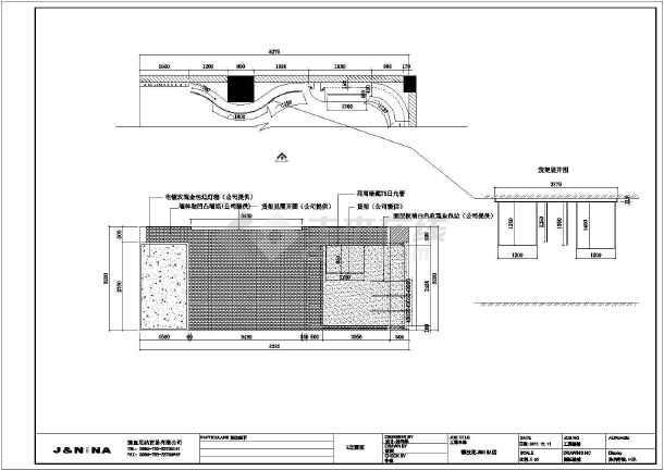 某地区商场服装商铺室内装修设计施工图图片