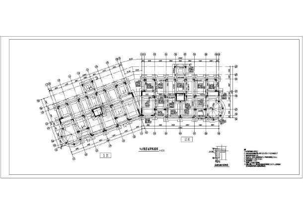 某小高层建筑工程cfg桩复合地基设计方案图