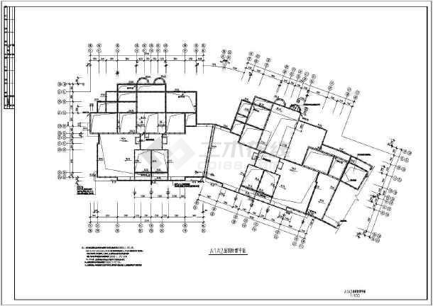 18层一梯三户钢筋混凝土剪力墙结构高层住宅建筑全套电气图纸(省院