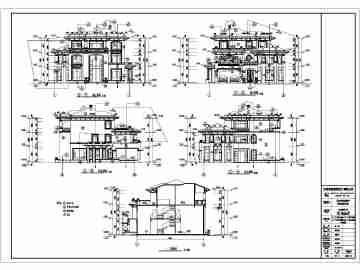 欧式厨房施工图