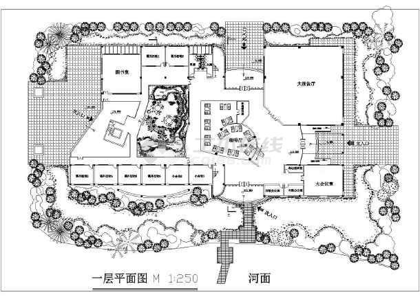 某大学生活动中心,为建筑学大二建筑设计作业,可供参考与学习!