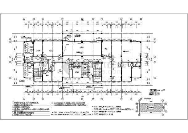 某公司10层办公楼建筑设计施工图