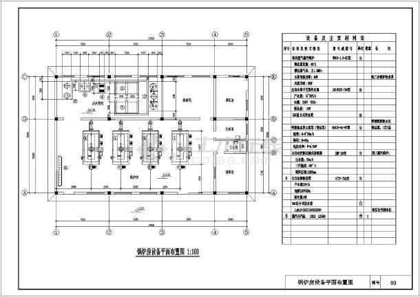 0-qc燃气蒸汽锅炉房全套设计图纸