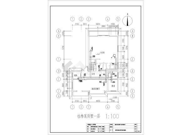 图纸 暖通设计图 户式中央空调 风管机户式中央空调设计图 某地某市的