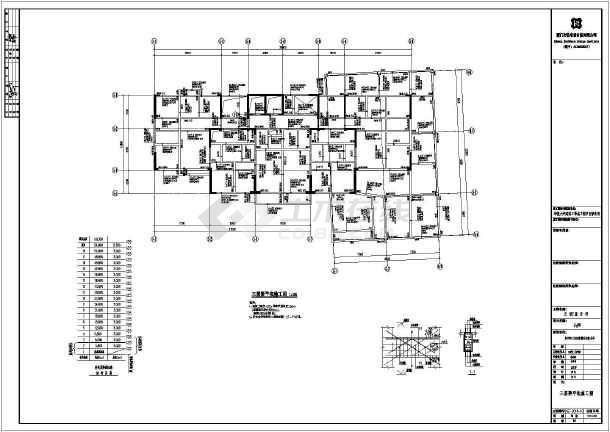 某18层cl体系剪力墙结构住宅楼设计施工图图片