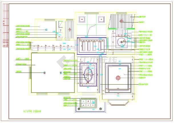 【上海】雅致四层别墅室内装修设计图