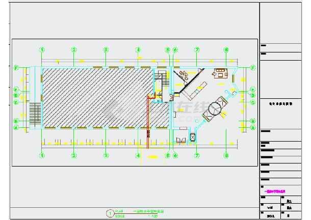 【内蒙古】某快捷酒店给排水v酒店图纸_cad图血魔图纸煎药图片