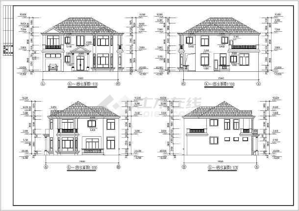 别墅建筑结构设计图纸_别墅建筑结构设计图纸大全免费