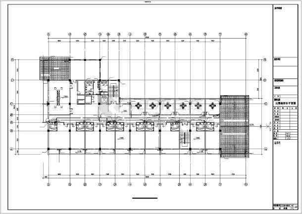 某商务会所带地下室给排水设计施工图图片