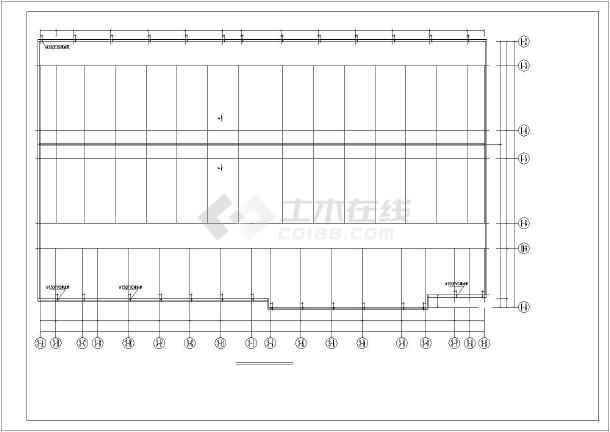 某地多层超市钢结构多层施工设计图