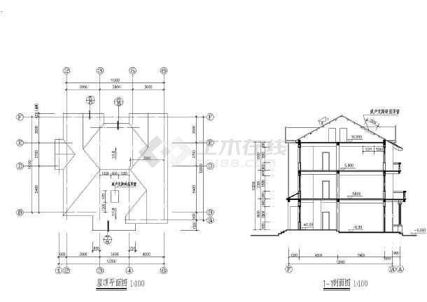 别墅图纸  别墅设计图