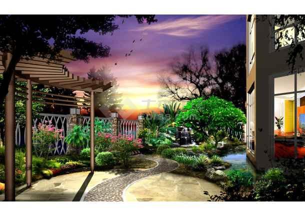 素材室内彩平图素材园林景观彩平图素材室内彩平图块彩平图块南彩别墅