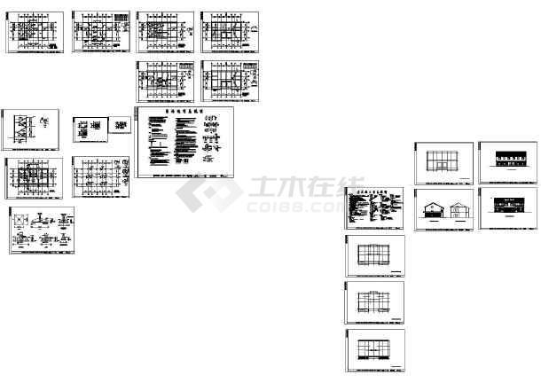 设计图-农村150平米2层小别墅-占地120平方三层别墅-150平方米别墅