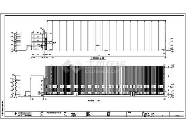 某地大跨度钢结构厂房建筑设计施工图