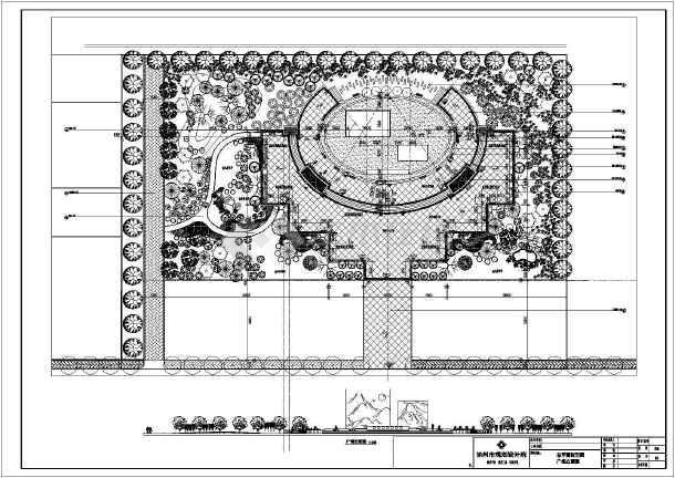 农村文化广场设计图