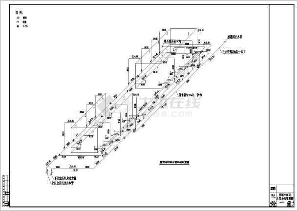 富士康某工厂大型空压站冷却系统设计图图片