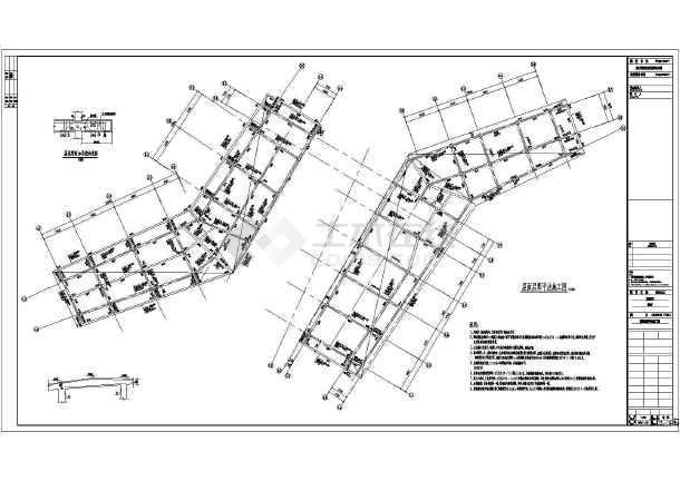 澳洲湾会所混凝土结构全套结构施工图