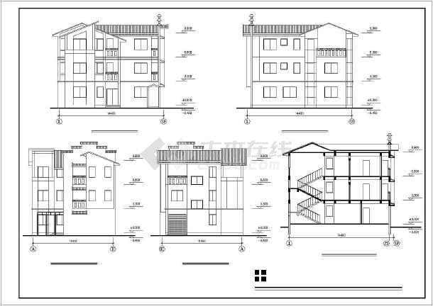 农村两层楼房设计图