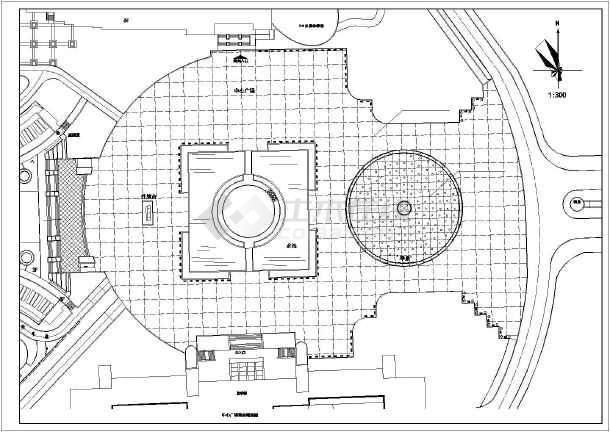 某学校广场景观规划设计全套施工图纸