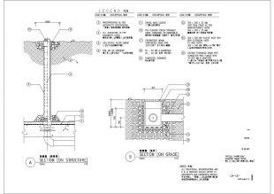 南京某小区景观设计施工详图(图纸部分)不方正的房怎样装修设计图片