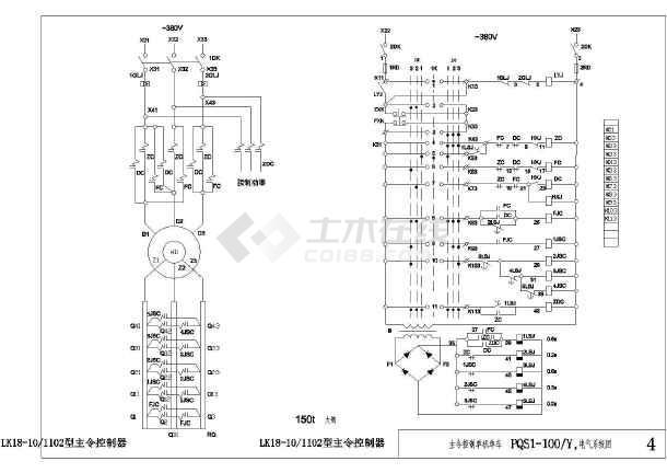 控制图纸行车图纸及列表无法使用详图cad显示介绍电气梁说明图片
