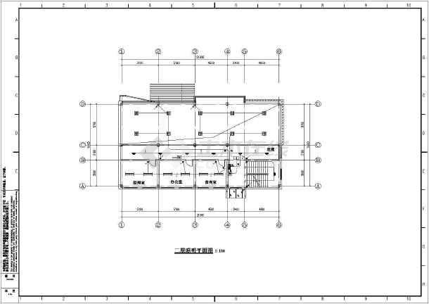 某地三层钢结构售楼部电气设计施工图