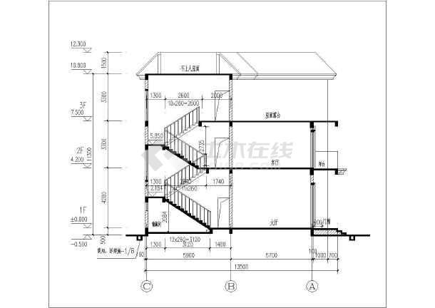 相关专题:三层混泥土框架结构农村房屋设计图 三层框架结构设计 三