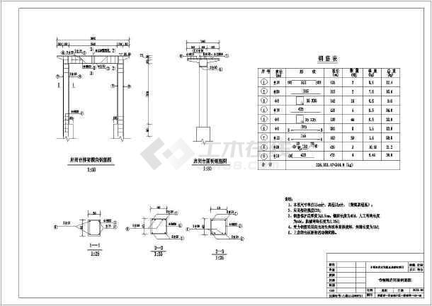 图纸 水利工程设计图 闸门启闭机 水闸相关 2013-2015省级小型农田