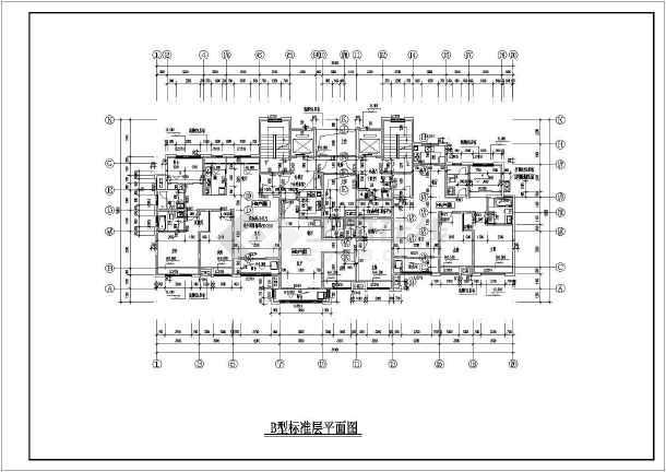 办公楼平面设计图