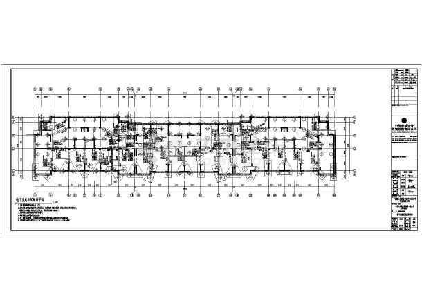 某海军大学30层框剪结构经济适用房建筑施工图