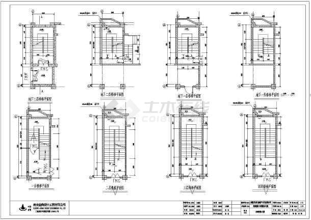 厦框筒高层建筑设计施工图纸图片
