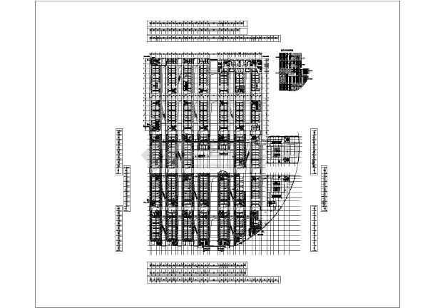 某国际轻纺城商场空调管路暖通设计图
