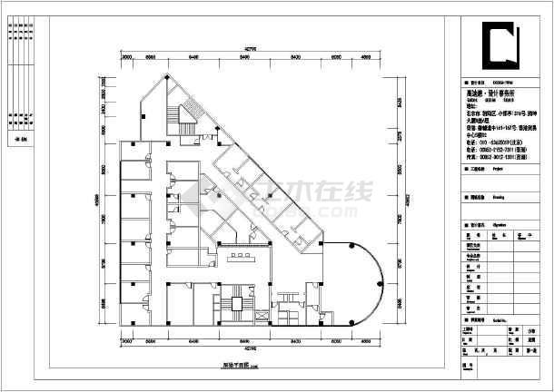 经济型酒店客房设计图