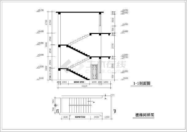 某农村住宅旧房改造设计图(共10张)